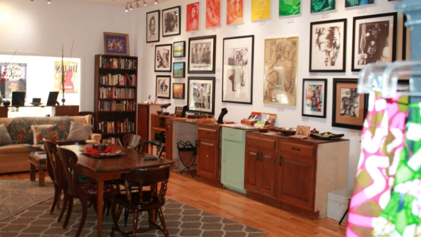 The Den: A Reading Room & Artist Exchange